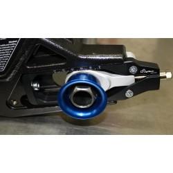 Snabbytarkit bakhjul med Lightech kedjespännare S1000RR och HP4